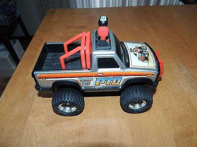 1983 Buddy L 4x4 PTO Power Take Off Truck Works Runs & Lights Battery Operated