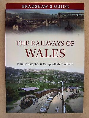 """bradshaw's Guide. The Railways Of Wales."" Trains Book."