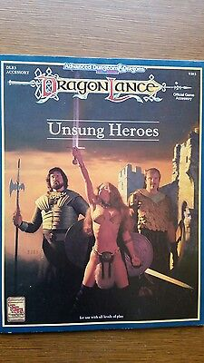 dragonlance unsung heroes advanced dungeons and dragons