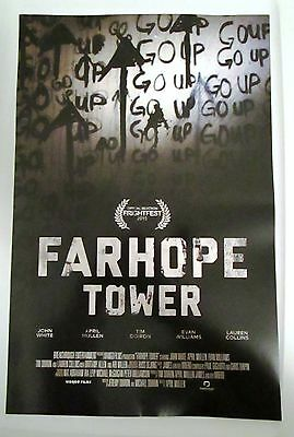 Farhope Tower Movie Promo Poster Canadian Horror