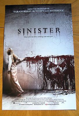 Sinister Movie Poster 2012 Canada Fan Expo Ethan Hawke Vincent D'Onofrio