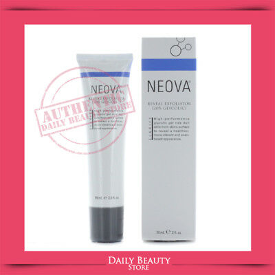 Neova Reveal Exfoliator 20% Glycolic 59ml 2oz BRAND NEW FAST SHIP