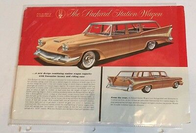 1958 Packard Station Wagon Ad