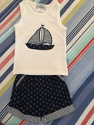 Boys Nautical Set // Hampton Threads // Size 2