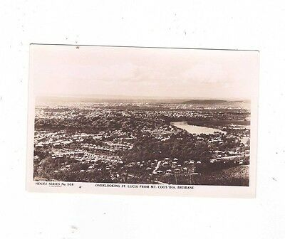 Australia QUEENSLAND Postcard, OVERLOOKING ST LUCIA from MT COOT-THA BRISBANE