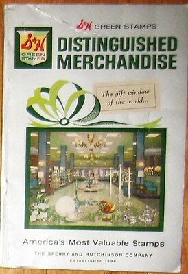 vintage S&H Green Stamps Ideabook 1963 Catalog Idea Book Toys Furniture
