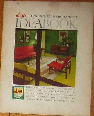 vintage S&H Green Stamps Ideabook 1959 Catalog Idea Book Toys Furniture