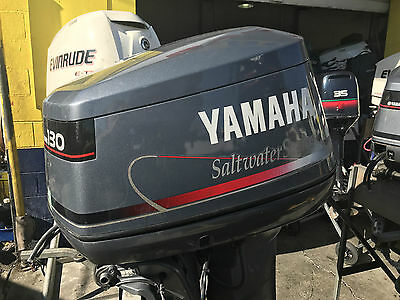 130hp Yamaha Outboard Motor Saltwater Series