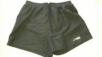 Mens Asics Black Shorts Size Medium