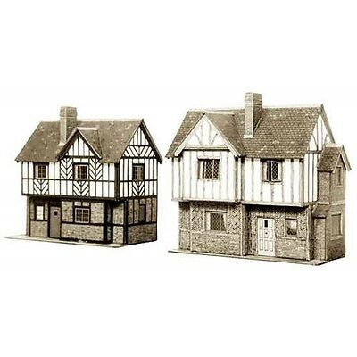 Superquick Oo/ho 1/72 B No28 Two Elizabethan Cottages Sqb28