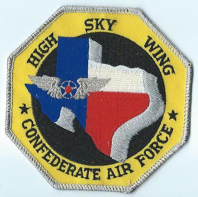 Confederate Air Force High Sky Wing Patch