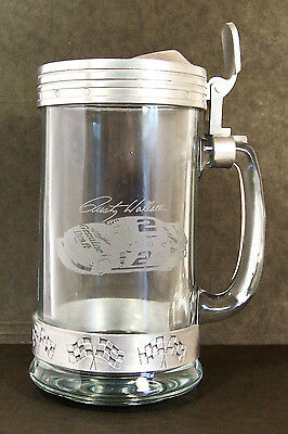 Stein ~ Rusty Wallace ~ #2 Miller Grand Prix ~ Pewter & Glass