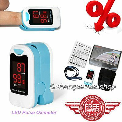 Finger Pulse Oximeter Fingertip SPO2 PR Blood Oxygen Monitor,SPO2,Home Care LED