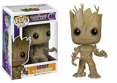 Funko Pop Marvel Groot Guardians of the Galaxy Vol. 2 Topic Exclusive Figure Q02