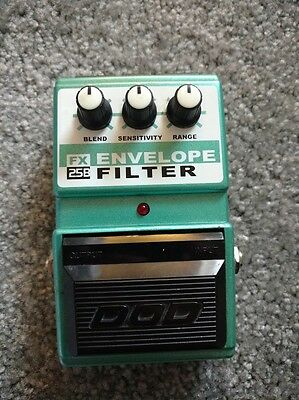 DOD FX25B Envelope Filter/Auto Wah Guitar Pedal. Great condition.