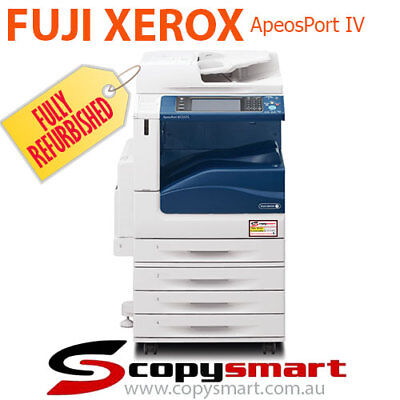 Xerox ApeosPort IV C4475 Copy, Fax Network Print,Scan/email Postscript