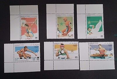 1995-  Sahara OCC. R.A.S.D. Set of 6 X Olympic Sports Stamp MUH