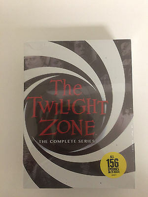 Twilight Zone: The Complete Series (DVD, 2016, 25-Disc Set) Free Shipping