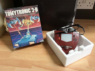 Tomy Tomytronic 7616 3-D Sky Attack 1983 Video Game Boxed