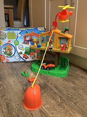 Fisher price Go Diego Go Talking Animal Rescue Centre Large Playset Vgc