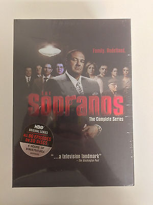The Sopranos - The Complete Series (DVD, 2014, 30-Disc Set) Free Shipping!