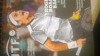 ITF world magazine spring 2017 Roger Federer on cover