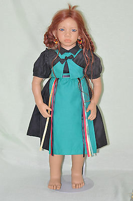 """Vintage 28""""in. 1995 Annette Himsteadt Madina 10th Anniversary Doll!"""