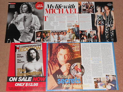 6- MICHAEL HUTCHENCE Magazine Clippings