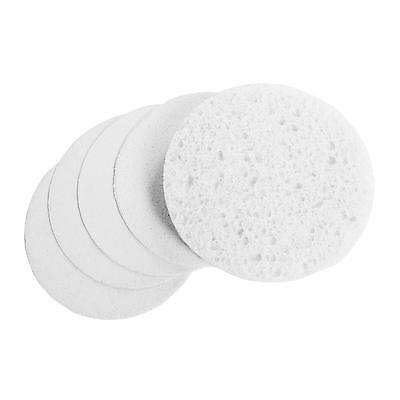 White Cellulose Round Facial Sponges Compressed Pack 25, 50, 75