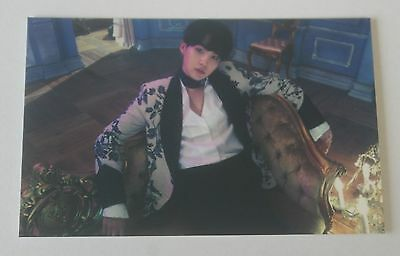 BTS Fan Meeting Blood Sweat Tears Official SUGA PhotoCard Only Rare