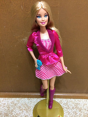Barbie Horse Pony Ride Western Equestrian Outfit Articulate Doll Pink Dress Boot