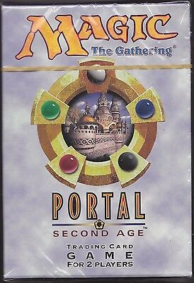 MTG 1 x  Two Player Portal Second Age  STARTER DECK  Factory Sealed (40 cards)