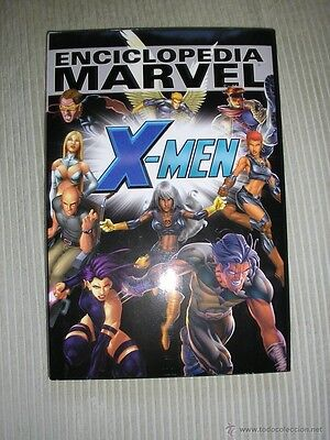 Enciclopedia Marvel Vol.4 X-Men Panini Comics