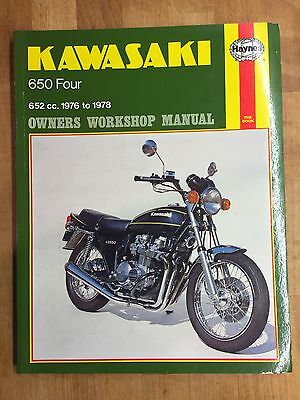 Kawasaki 650 Four Haynes Owners Workshop Manual
