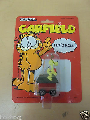 Ertl Garfield Cat 1990S Toy Vehicle : Odie's Kennel Sealed Jim Davis