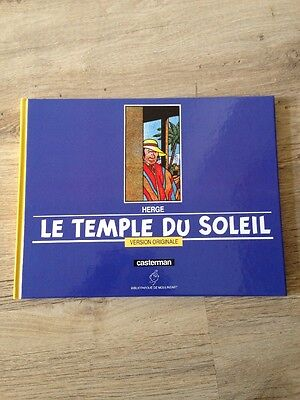 Tintin et le Temple du Soleil - Version Originale - TBE