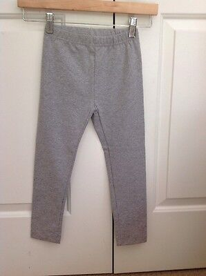 Hanna Andersson Gray Girls Leggings Size 110 (4-6 Years)