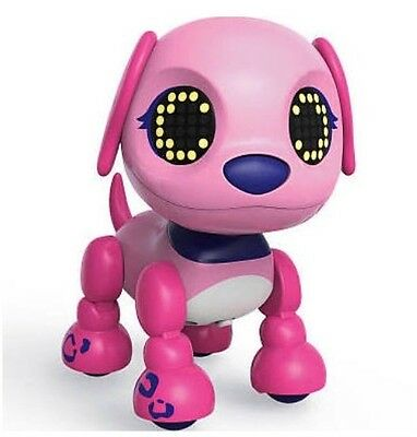 Zoomer Zupps Flare Interactive Pet Tiny Zuppies Pups Puppies Dog Pink Height 9cm