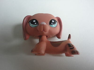 Littlest Pet Shop 2046 Dachshund Dog LPS CHIEN TECKEL