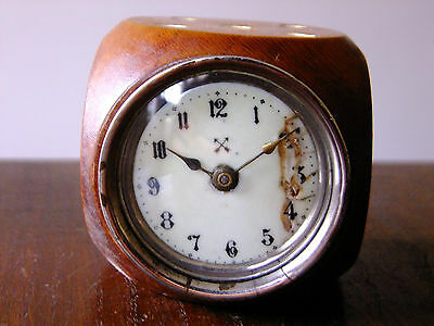 Antique Vintage Dice Clock 70mm x70mm