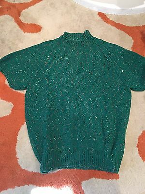 Vintage Land Army Ladies 1940's Jumper Good wood Size Small