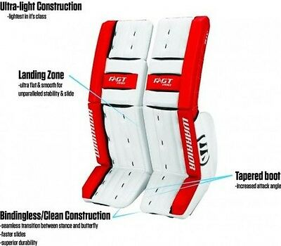 Warrior RGT Goalie rails Intermediate