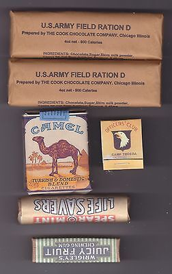 Ww2 Us Airborne Pack Fillers  (Repro)