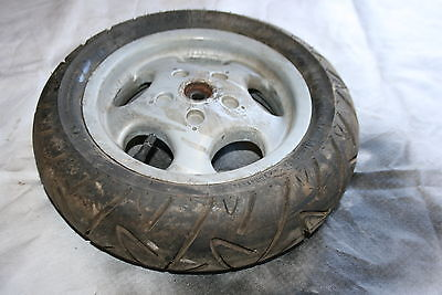 Vespa Et2 Rear Wheel With Continental 120/70-10 Tyre
