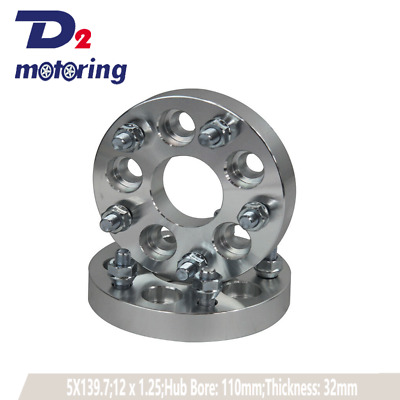 2PCS Wheel Spacers FOR HOLDEN Commodore 5x120 12X1.5 CB=63 mm 25mm