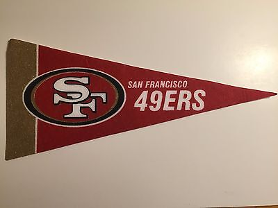 NFL San Francisco Mini Felt Pennant by RICO Industries