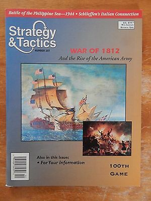 Strategy & Tactics # 207 War Of 1812    Magazine Only