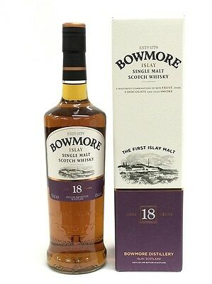 Bowmore 18 Years Old Islay Single Malt Scotch Whisky 700Ml Boxed
