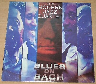 Modern Jazz Quartet - Blues On Bach. (Uk, 1974, Atlantic, Sd 1652)