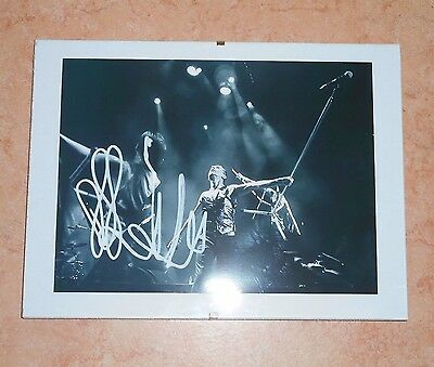 Dave Gahan Depeche Mode Original Photo Signed Autograph